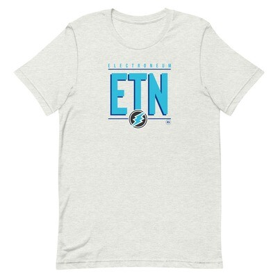 ETN Amplifier T-Shirt (Electroneum Blue)