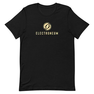 Electroneum Gold Chrome T-Shirt