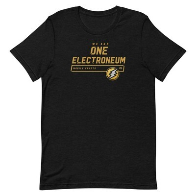 We Are One Electroneum T-Shirt