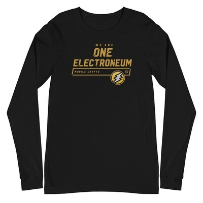 We Are One Electroneum Long Sleeve Tee