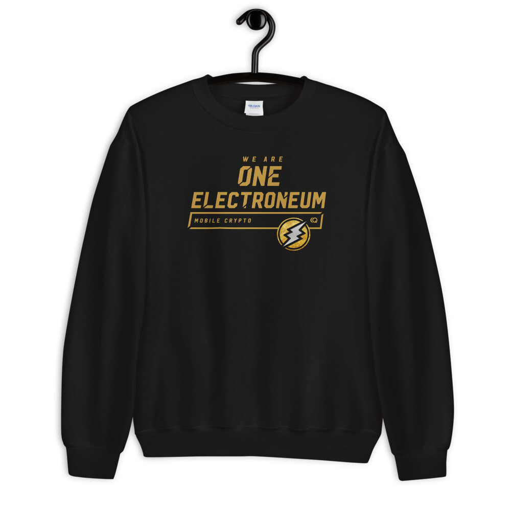 We Are One Electroneum Sweatshirt