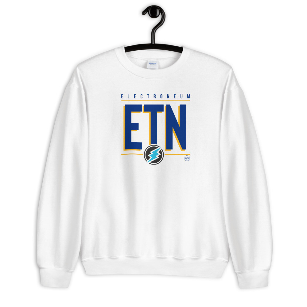 ETN Amplifier Sweatshirt (Royal Blue/Yellow)