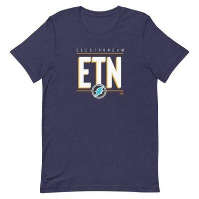 ETN Amplifier (White/Yellow) T-Shirt