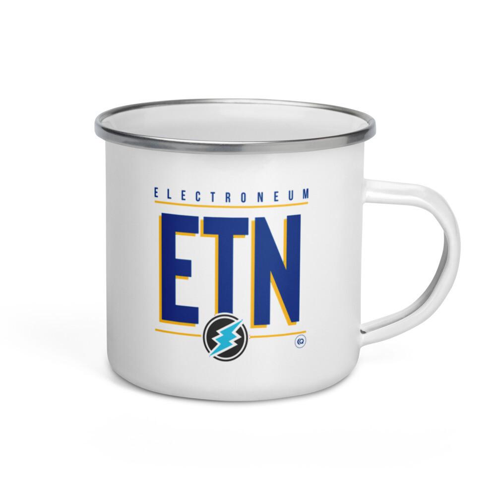 ETN Amplifier Enamel Mug