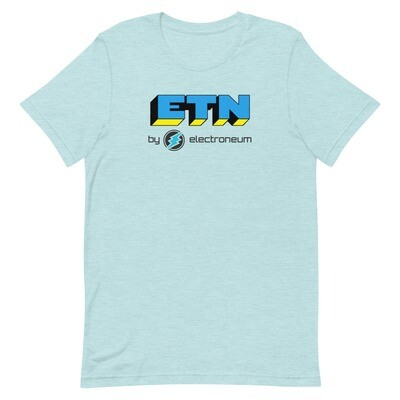 ETN by Electroneum (Blue/Yellow) T-Shirt