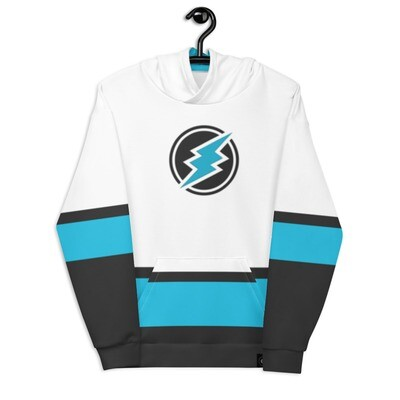 ETN Jersey Style Hoodie - Electroneum Colors