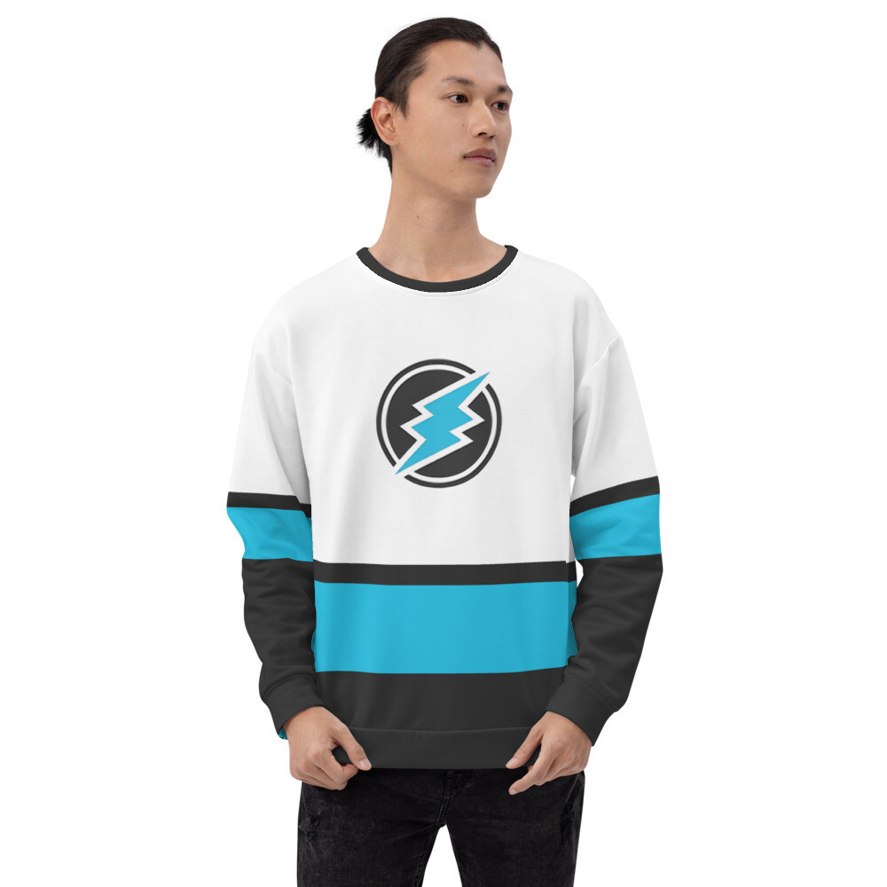 ETN Jersey Style Sweatshirt - Electroneum Colors