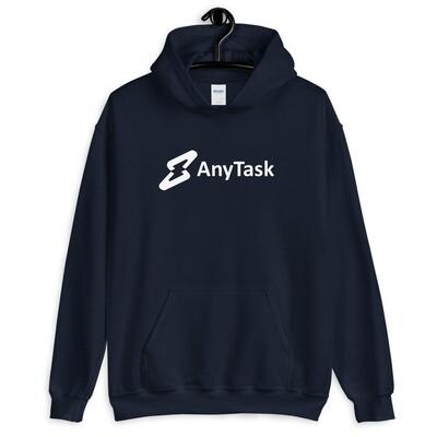 AnyTask Hoodie (White wordmark)