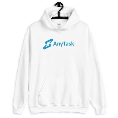 AnyTask Hoodie (Blue wordmark)