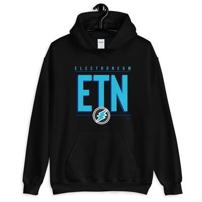 ETN Amplifier Unisex Hoodie (ETN Blue)