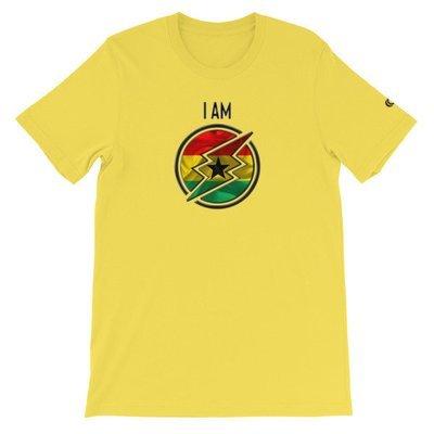 Ghana - I AM T-Shirt (Black Metallic)