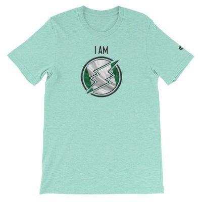 Nigeria - I AM T-Shirt (Black Metallic)