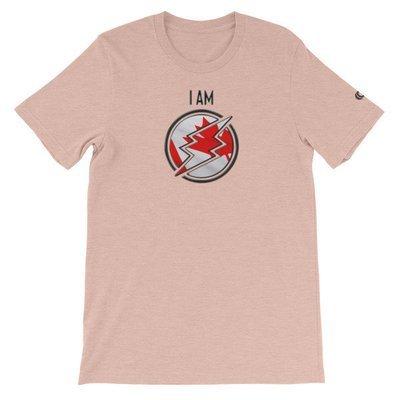 Canada - I AM T-Shirt (Black Metallic)