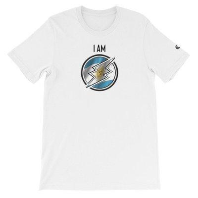 Argentina - I AM T-Shirt (Black Metallic)