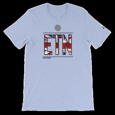 UK - I AM ETN T-Shirt (Black Metallic)