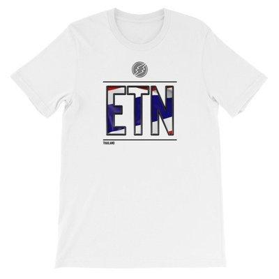 Thailand - I AM ETN T-Shirt (Black Metallic)