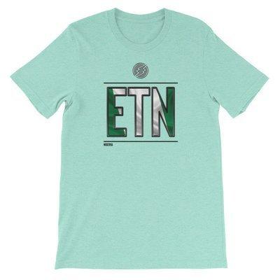 Nigeria - I AM ETN T-Shirt (Black Metallic)