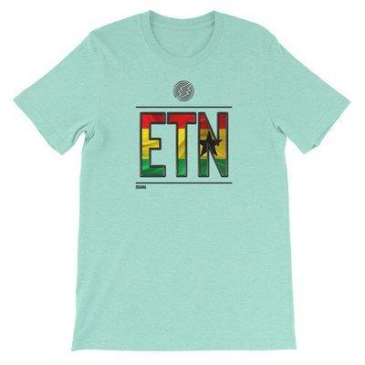 Ghana - I AM ETN T-Shirt (Black Metallic)