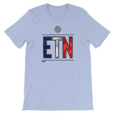 France - I AM ETN T-Shirt (Black Metallic)