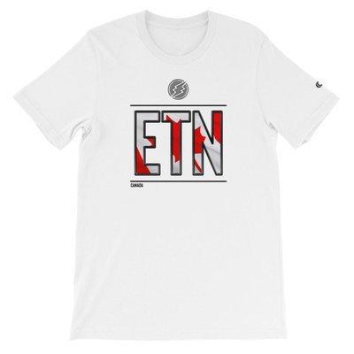 Canada - I AM ETN T-Shirt (Black Metallic)