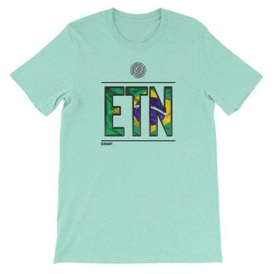 Brazil - I AM ETN T-Shirt (Black Metallic)