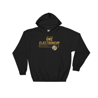 We Are One Electroneum Hoodie ( Gold Bolt )