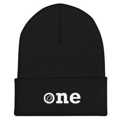 ONE Beanie - White Logo