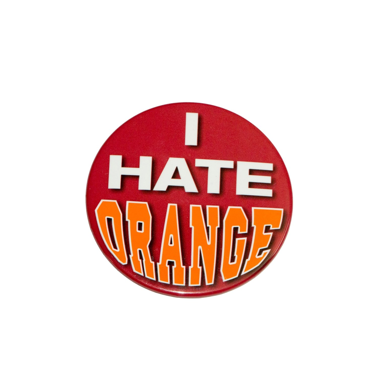 I Hate Orange Button