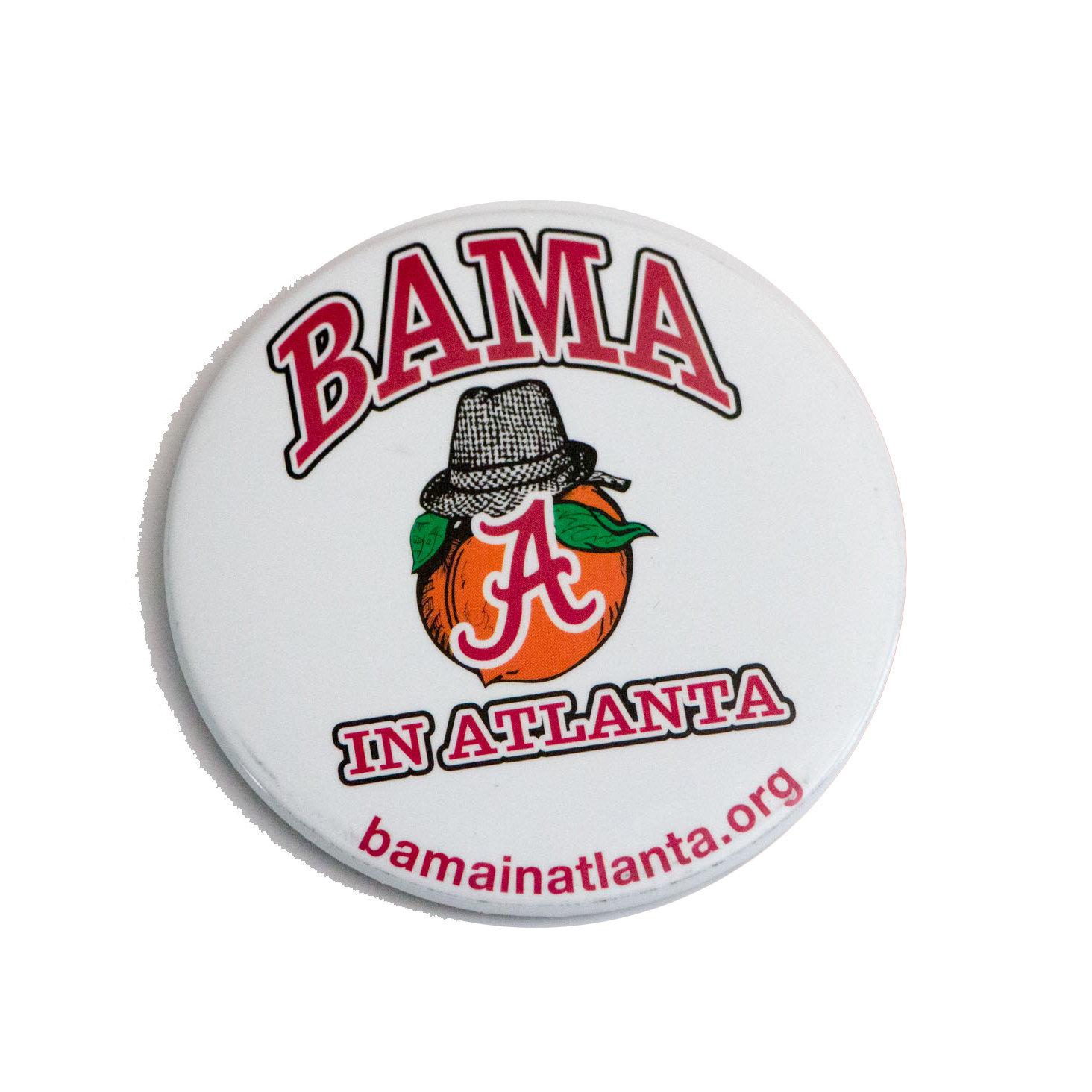Bama in Atlanta (Vintage) Button