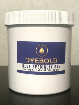 16 Oz Blue Specialty Dye for Nylon/Wool/Silk
