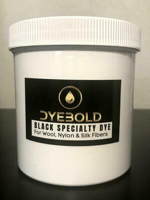 16 Oz Black Specialty Dye for Nylon/Wool/Silk
