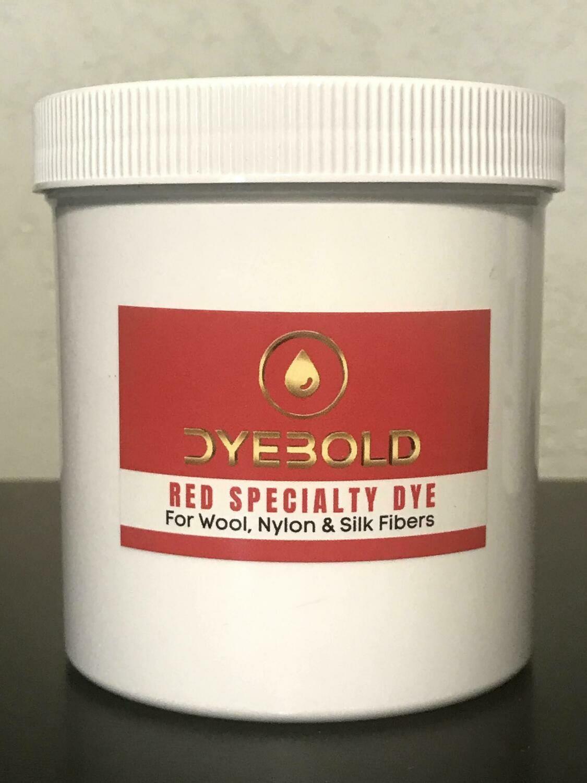 16 Oz Red Specialty Dye for Nylon/Wool/Silk