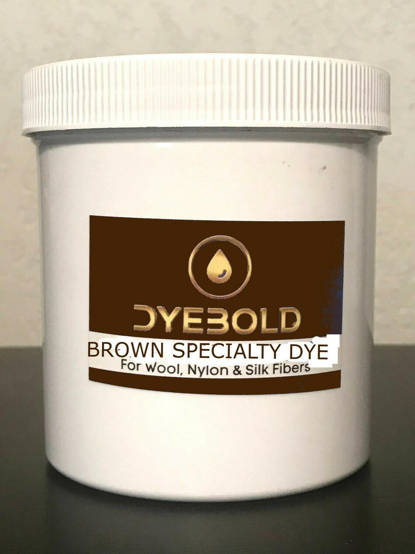 16 Oz Brown Specialty Dye for Nylon/Wool/Silk