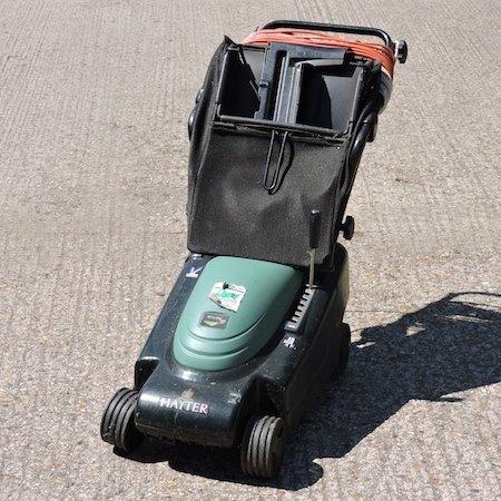 Lot 21,   A Hayter petrol driven lawnmower 30/40