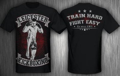 T-shirt - Train Hard Fight Easy