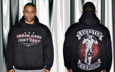 Hoodies- Train Hard Fight Easy