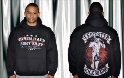 Hoodies- Train Hard Fight Easy