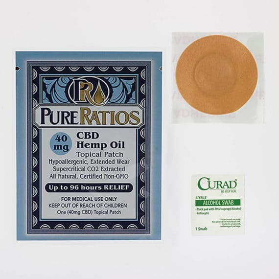 Pure Ratios 40 mg 5 Patches