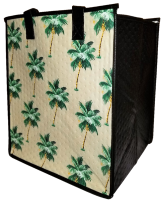 Tropical Paper Garden - Insulated Large Bag - AULANI CREAM