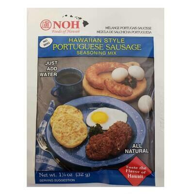 NOH Hawaiian Style Portuguese Sausage 1.2 oz