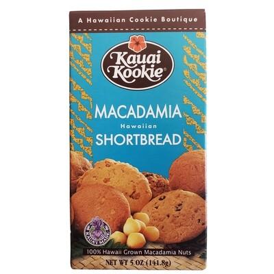 Kauai Kookie Macadamia Nut Shortbread Cookies 5 oz