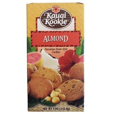 Kauai Kookie Almond Cookies 5 oz