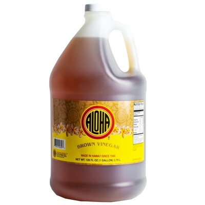 Aloha Brown Vinegar Gallon (128 fl oz)