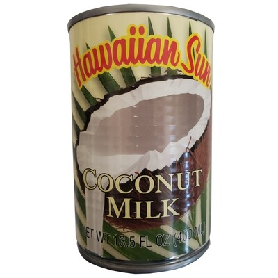 Hawaiian Sun Coconut Milk 13.5 fl oz
