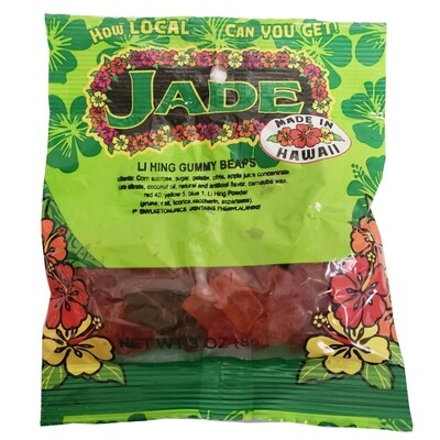 Jade Li Hing Gummy Bears 3 oz