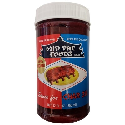Mid Pac Char Siu Sauce 12oz.