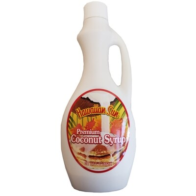 Hawaiian Sun Premium Coconut Syrup 12.5 oz