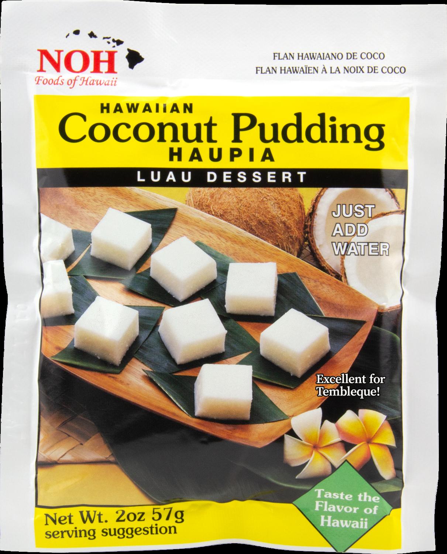 NOH Coconut Pudding Haupia 2oz