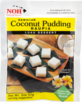 NOH Coconut Pudding Haupia 2oz