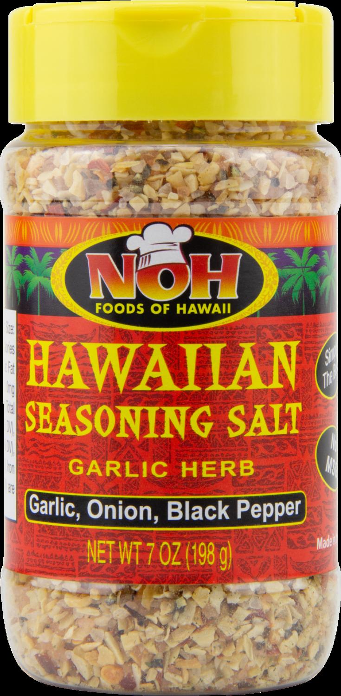 NOH Hawaiian Seasoning Salt Garlic Herb 7oz